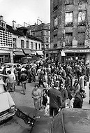 Paris, August 1977. Boutiques De La Rue de Belleville.