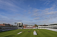 General view of the ground looking towards the pavilion ahead of Middlesex CCC vs Essex CCC, Specsavers County Championship Division 1 Cricket at Lord's Cricket Ground on 24th April 2017