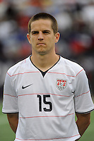 Sam Cronin (15) of the United States (USA). The United States and Haiti played to a 2-2 tie during a CONCACAF Gold Cup Group B group stage match at Gillette Stadium in Foxborough, MA, on July 11, 2009. .