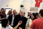 Ferragosto in mensa caritas, visita della sindaca Raggi