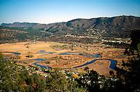 RIVERS - LAKES<br /> Meanders Of Animas River<br /> Durango, CO