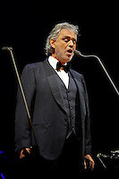 NOV 20 Andrea Bocelli performing at o2 Arena