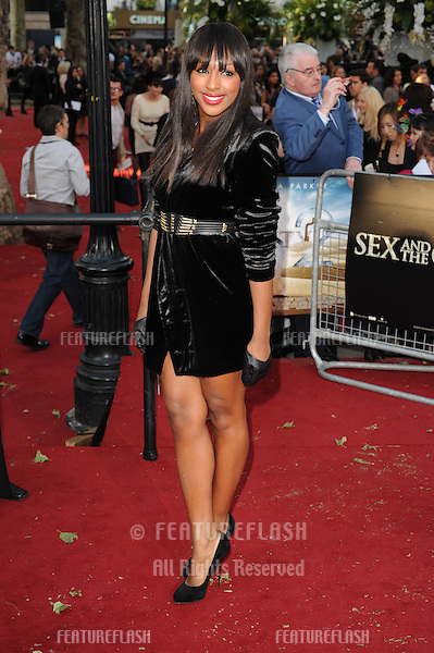 Alexandra Burke attends the Sex and the City 2 UK Premiere in Leicester Square, London. 27/05/2010.Picture By: Gerry Copper / Featureflash..