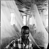 Kuito, Angola, May, 22, 2006.Aurelio, 21, suffers from Tuberculosis and is a patient in Bi&eacute; Province Hospital. TB is endemic in the region, fueled by poverty, malnutrition, inadequate hygiene and the rapid spreading of HIV/AIDS since the end of the civil war in 2002.