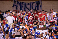 USA fans in Honduras. .USA clinches a spot in the  2010 World Cup after defeating Honduras in 3-1 during CONCACAF qualifying in San Pedro Sula, Honduras, October 10, 2009.