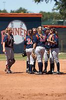 SAN ANTONIO, TX - APRIL 30, 2006: The University of Texas at Arlington Mavericks vs. The University of Texas at San Antonio Roadrunners Softball at Roadrunner Field. (Photo by Jeff Huehn)