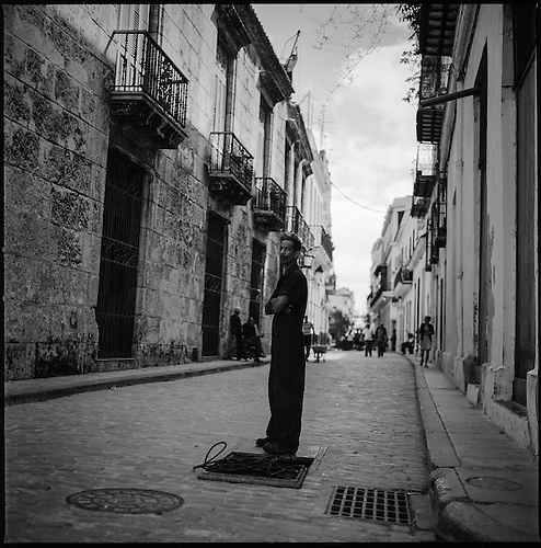 The Streets of Havana | Black & White