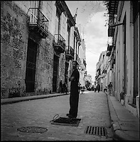 The Streets of Havana | Black &amp; White