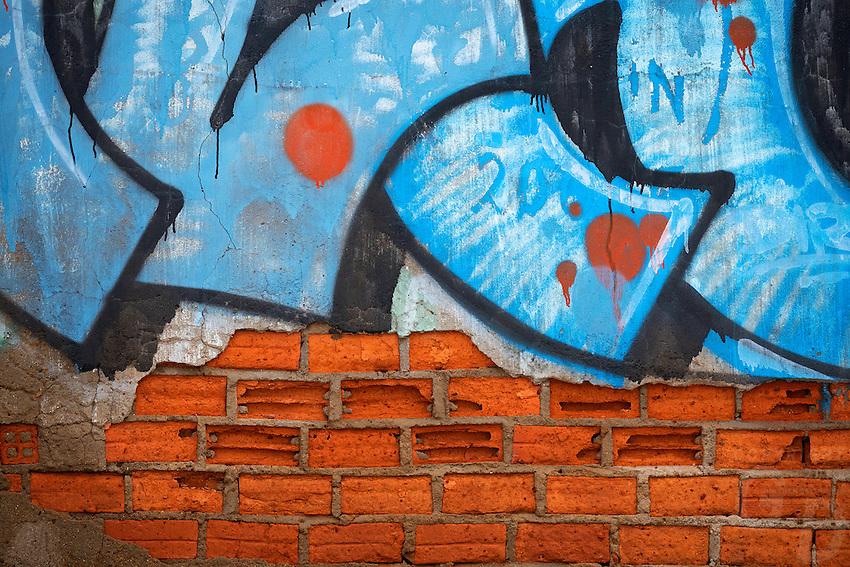 Graffiti in Mui Ne, Vietnam