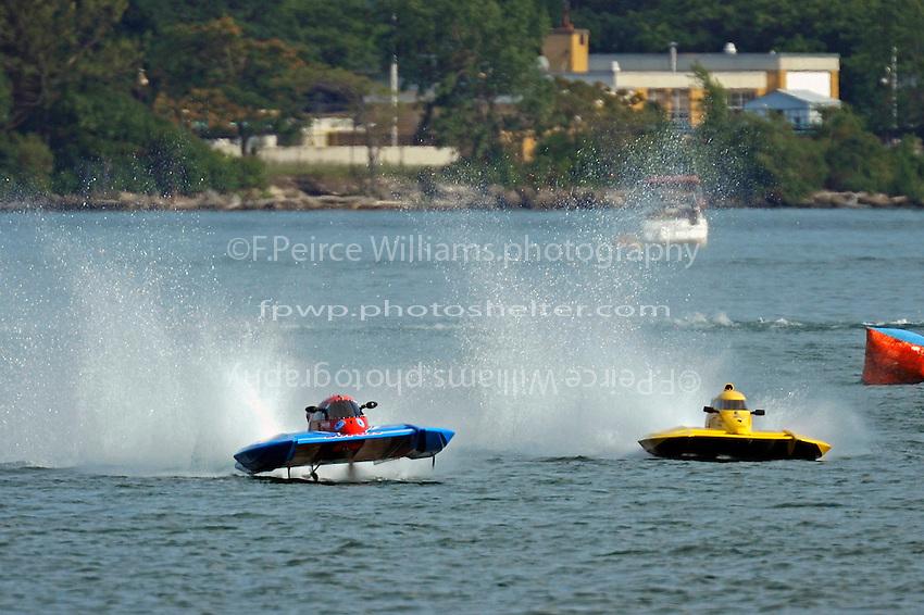Donald Leduc, CS-48 and CS-18  (2.5 Litre Stock hydroplane(s)