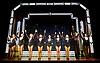 Stepping Out <br /> by Richard Harris <br /> at The Vaudeville Theatre, London, Great Britain <br /> press photocall <br /> 9th March 2017 <br /> <br /> Amanda Holden as Vera - 3rd from left <br /> <br /> Anna-Jane Casey as Mavis<br /> <br /> Nicola Stephenson as Dorothy <br /> <br /> Tracy-Ann Oberman as Maxine <br /> <br /> Natalie Casey as Sylvia <br /> <br /> Lesley Vicarage as Andy <br /> <br /> Jessica Alice McCluskey as Lynne<br /> <br /> Dominic Rowan as Geoffrey <br /> <br /> Judith Barker as Mrs Fraser <br /> <br /> Sandra Marvin as Rose <br /> <br /> <br /> Photograph by Elliott Franks <br /> Image licensed to Elliott Franks Photography Services