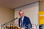 Minister for Housing, Planning, Community and Local Government Simon Coveney, Moira Murrell (CEO Kerry County Council), at the Roadshow on Housing Crisis in the Manor West Hotel, Tralee on Monday afternoon.