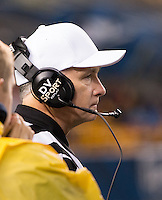 Football referee Tom McCreesh. The Pitt Panthers defeated the Old Dominion Monarchs 35-24 at Heinz Field, Pittsburgh, Pennsylvania on October 19, 2013.
