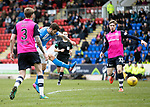 St Johnstone v Dundee&hellip;11.03.17     SPFL    McDiarmid Park<br />Richie Foster shoots for goal<br />Picture by Graeme Hart.<br />Copyright Perthshire Picture Agency<br />Tel: 01738 623350  Mobile: 07990 594431