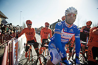 Danilo Napolitano (ITA) before the start<br /> <br /> Kuurne-Brussel-Kuurne 2014