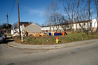 1990 February 07..Conservation.North Titustown..CLEARED LOT.CORNER OF BALTIMORE DRIVE & DIVEN STREET...NEG#.NRHA#..