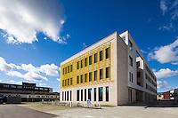 IHA Katrinebjerg, Engineering College of Aarhus, Denmark . Engineer: Søren Jensen. Architect: C.F. Møller