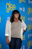 LOS ANGELES - MAY 1:  Amber Riley arrives at the Glee TV Academy Screening and Panel at TV Academy Theater on May 1, 2012 in North Hollywood, CA