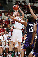 10 February 2007: Stanford Cardinal Christy Titchenal during Stanford's 80-54 win against the Washington Huskies at Maples Pavilion in Stanford, CA.