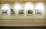 SOUTHBURY, CT,  02 JANUARY 2006, 010207BZ06- Landscape photographs by Vincent Orlando, Sr. hang in the gallery of the Southbury Public Library.  The exhibit will run through January 31.<br /> Jamison C. Bazinet Republican-American