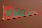 11/7/07 Smith Center, KS..Smith Center High School pennant on the wall of the school...(Chris Machian/Prairie Pixel Group)