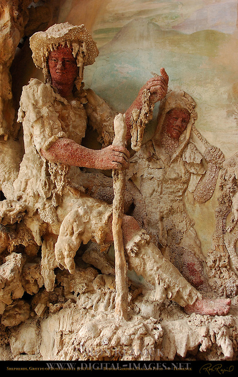 Shepherds, Outer Grotto, Grotto of Buontalenti Palazzo Pitti Florence