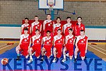National Basketball Cup: U18 Templeogue Basketball  Club pictured at the Killorglin Sport and Leisure Centre last Sunday.