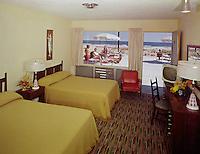 La Vita Motel Wildwood NJ. 1960's Motel Room with a patio  & ocean view.