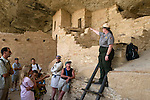 The ranger led interpretive tours at Balcony House are very informative. Mesa Verde National Park, CO