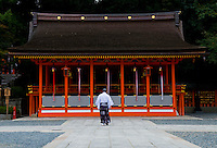 Fushimi Inari-taisha Shrine in Kyoto Japan This shrine, dedicated to the god of rice and sake