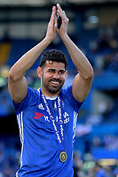 Diego Costa of Chelsea during Chelsea vs Sunderland AFC, Premier League Football at Stamford Bridge on 21st May 2017