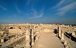 Jordan, Amman. Remains of a Byzantine Church at the Citadel Hill&amp;#xA;&amp;#xA;<br />