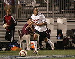 1 November 2006: Maryland's A.J. Godbolt. Maryland defeated Boston College 1-0 in double overtime at the Maryland Soccerplex in Germantown, Maryland in an Atlantic Coast Conference college soccer tournament quarterfinal game.