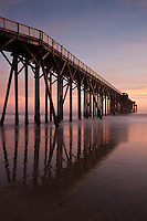 San Simeon Pier, William Randolph Hearst Memorial Beach, California
