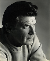 Portrait of Veteran Cowboy Actor Peter Breck taken in 1981 by Chuck Goodenough