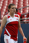 Canada's Christine Sinclair on Saturday, May 12th, 2007 at Pizza Hut Park in Frisco, Texas. The United States Women's National Team defeated Canada 6-2 in a women's international friendly.