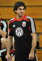 D.C. United defender Dejan Jakovic during the pre-season fitness training session at George Manson University before departing for Bradenton Florida to get ready for the 2013 season, Friday January 18, 2013.