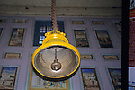 Asia, India, Sarnath. Bell of Jain Temple at Sarnath.