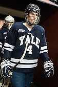 Rob O'Gara (Yale - 4) - The Boston College Eagles tied the visiting Yale University Bulldogs 3-3 on Friday, January 4, 2013, at Kelley Rink in Conte Forum in Chestnut Hill, Massachusetts.