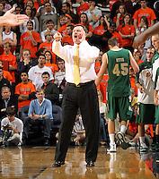 Nov. 12, 2010; Charlottesville, VA, USA;  William & Mary head coach during the game at the John Paul Jones Arena.  Mandatory Credit: Andrew Shurtleff