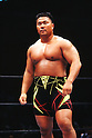 Kensuke Sasaki, AUGUST 11, 1995 - Pro-Wrestling :  Kensuke Sasaki is senn during the New Japan Pro Wrestling event in Japan. (Photo by Yukio Hiraku/AFLO)