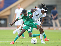 TOKYO, JAPAN - September 4, 2012: The United States women's U-20 national team defeated Nigeria 2-0 in the U-20 World Cup semifinals at National Stadium in Tokyo, Japan on September 4, 2012.