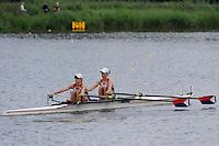 Amsterdam, NETHERLANDS, USA BLW2X,  2011 FISA U23 World Rowing Championships, Wednesday, 20/07/2011 [Mandatory credit:  Intersport Images]