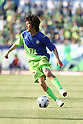Ryuta Sasaki (Bellmare), MAY 8th, 2011 - Football : 2011 J.League Division 2 match between Shonan Bellmare 1-1 Ehime FC at Hiratsuka Stadium in Kanagawa, Japan. (Photo by Kenzaburo Matsuoka/AFLO)