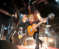 Myles Kennedy performs with Slash at the MTV Classic Launch, The Palace Theatre, Melbourne, 28 April 2010