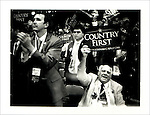 RNC Delegates, Guests, Attendees:..Hal Pierce, Alabama Delegate. Polaroid Portraiture and Reportage from the 2008 Political Conventions
