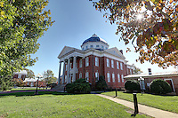 The historical courthouse and downtown area of Louisa County, Va. Photo/Andrew Shurtleff