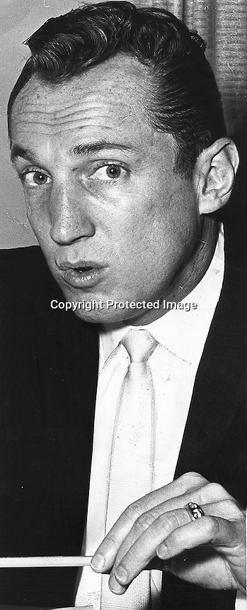 Raiders Al Davis 1965.photo Ron Riesterer