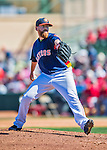 4 March 2016: Houston Astros pitcher Dan Straily on the mound during a Spring Training pre-season game against the St. Louis Cardinals at Osceola County Stadium in Kissimmee, Florida. The Astros defeated the Cardinals 6-3 in Grapefruit League play. Mandatory Credit: Ed Wolfstein Photo *** RAW (NEF) Image File Available ***
