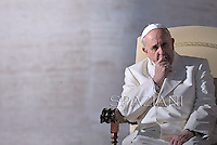 General audience Pope Francis in St. Peter's Square at the Vatican. December 11, 2013